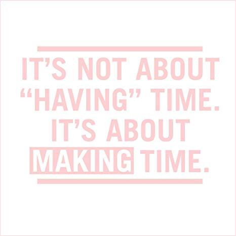 Prendre du temps pour son bien-être